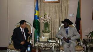 2010年3月2日,中國政府非洲事務特別代表劉貴今訪問蘇丹南方,會見蘇丹南方自治政府主席基爾。