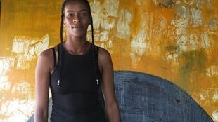 L'artiste sud-africaine Nandipha Mntambo.
