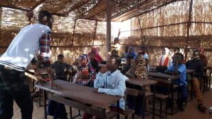 Classe à Niamey au Niger.