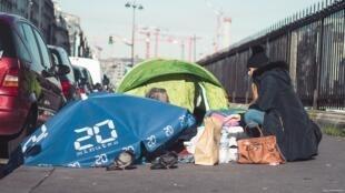 L'association « Les enfants du canal » en action: elle intervient dans 3 arrondissements parisiens: le 7e, le 8e et le 17e.