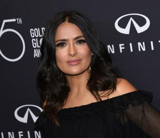 """Actress Salma Hayek, star of the movie """"Frida,"""" is the latest top actress to speak out against disgraced Hollywood magnate Harvey Weinstein"""