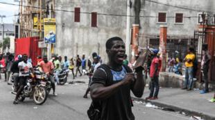 Les manifestations suivis de pillages et de vandalismes ont repris à Port-au-Prince après le message retransmis à la télévision du président Jovenel Moïse.