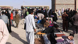 مهاجران افغان در شهر یزد