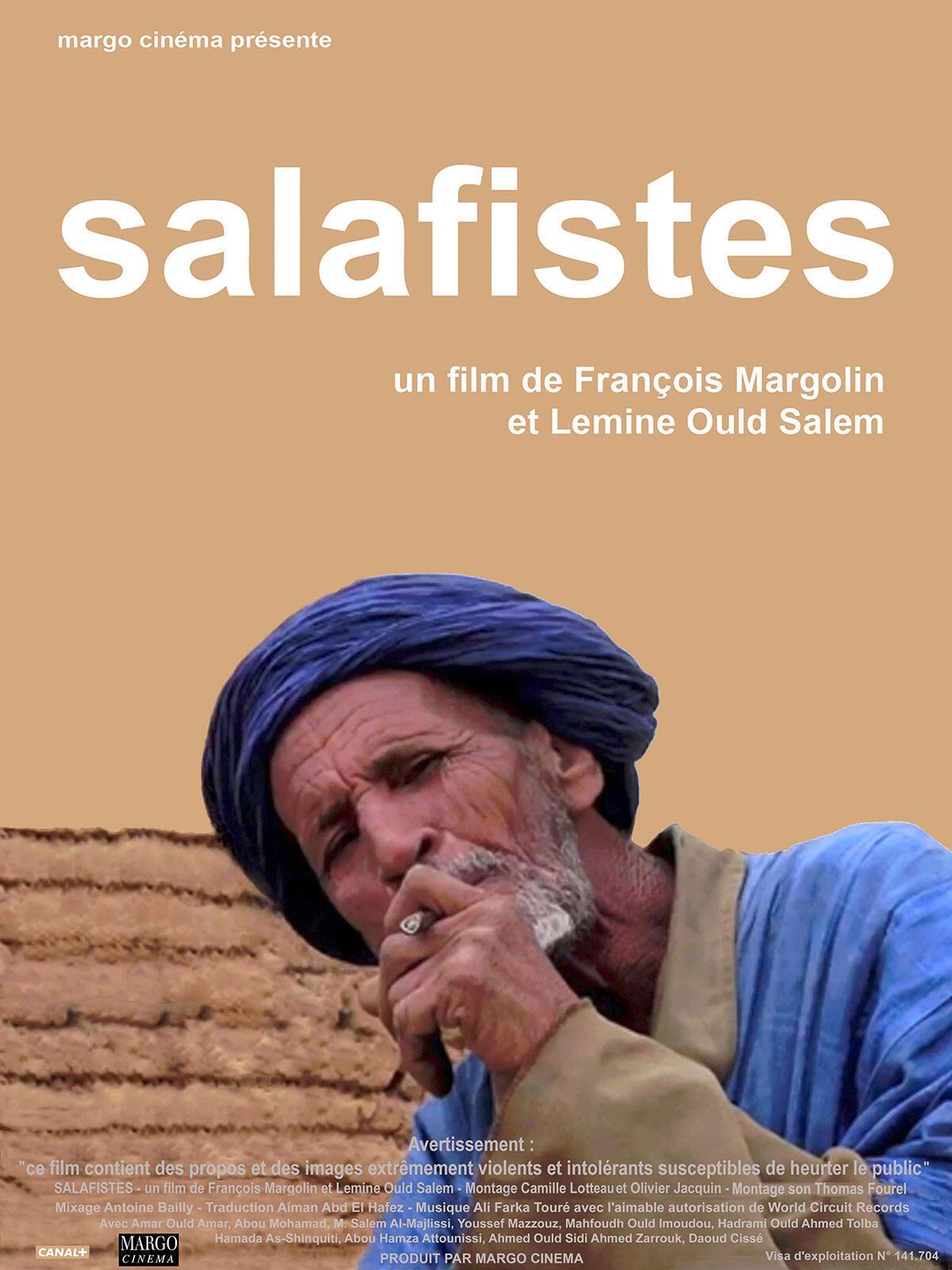 Détail de l'affiche du film Salafistes, réalisé par François Margolin et Lemine Ould Salem.