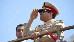O presidente egípcio Abdel Fattah al-Sissi.