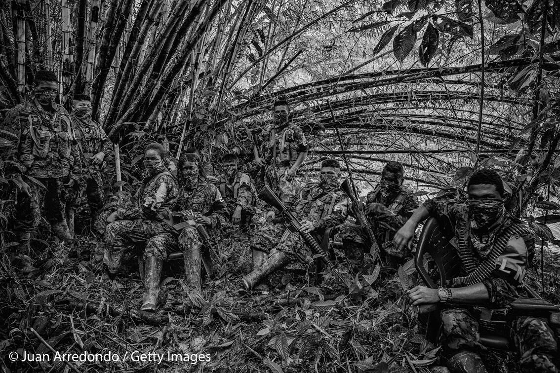 El fotógrafo colombiano Juan Arrendondo fue galardonado en 2016 por su trabajo sobre los grupos insurgentes en Colombia.