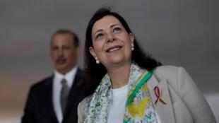Maria Teresa Belandria, indicada por Juan Guaidó para representar a Venezuela no Brasil, disse que o chanceler brasileiro poderia visitar o novo centro de ajuda humanitária na fronteira venezuelana