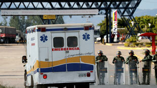 委內瑞拉東南與巴西接壤的邊界發生警民衝突。
