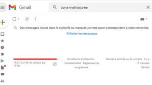 boite mail saturée 2