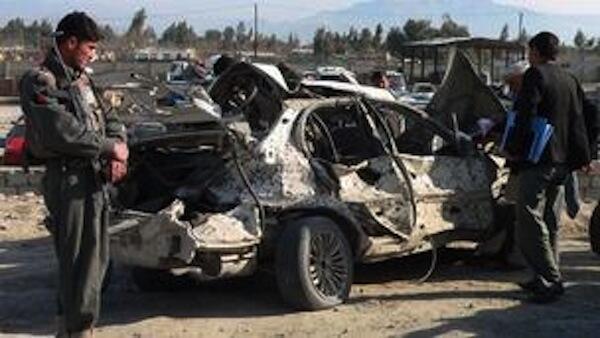 Shambulizi la bomu lililotekelezwa na Kundi la Wanamgambo wa Taliban katika Uwanja wa Ndege huko Jalalabad
