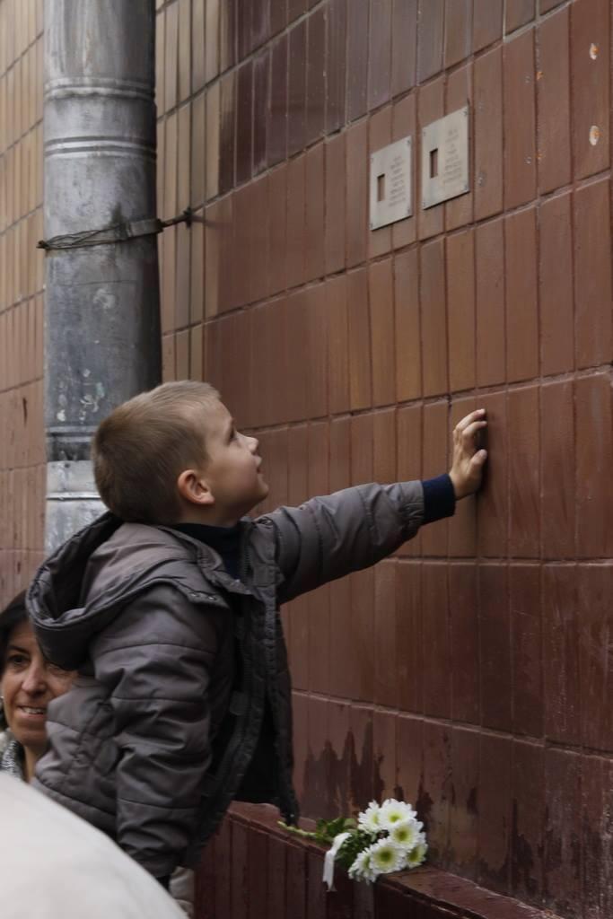 Установка табличек «Последнего адреса» в Москве