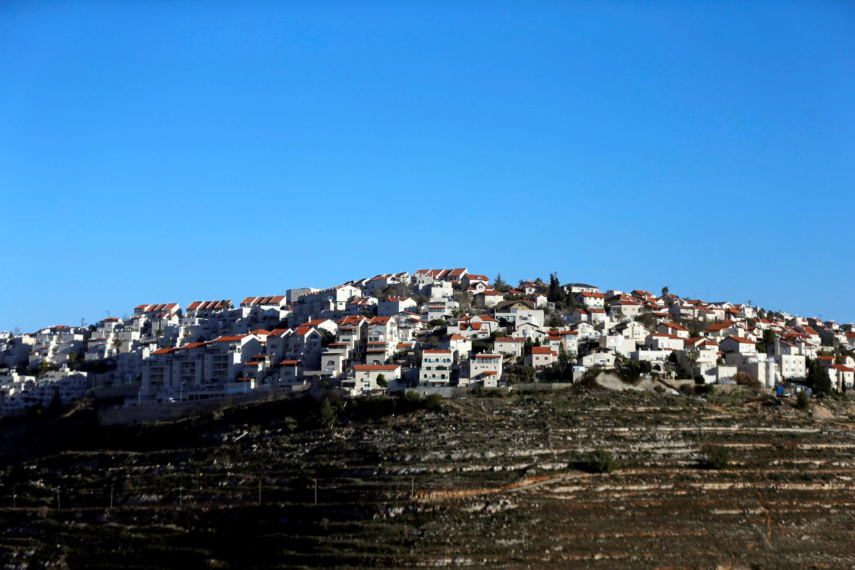 位于约旦河西岸占领区的一处犹太移民定居点