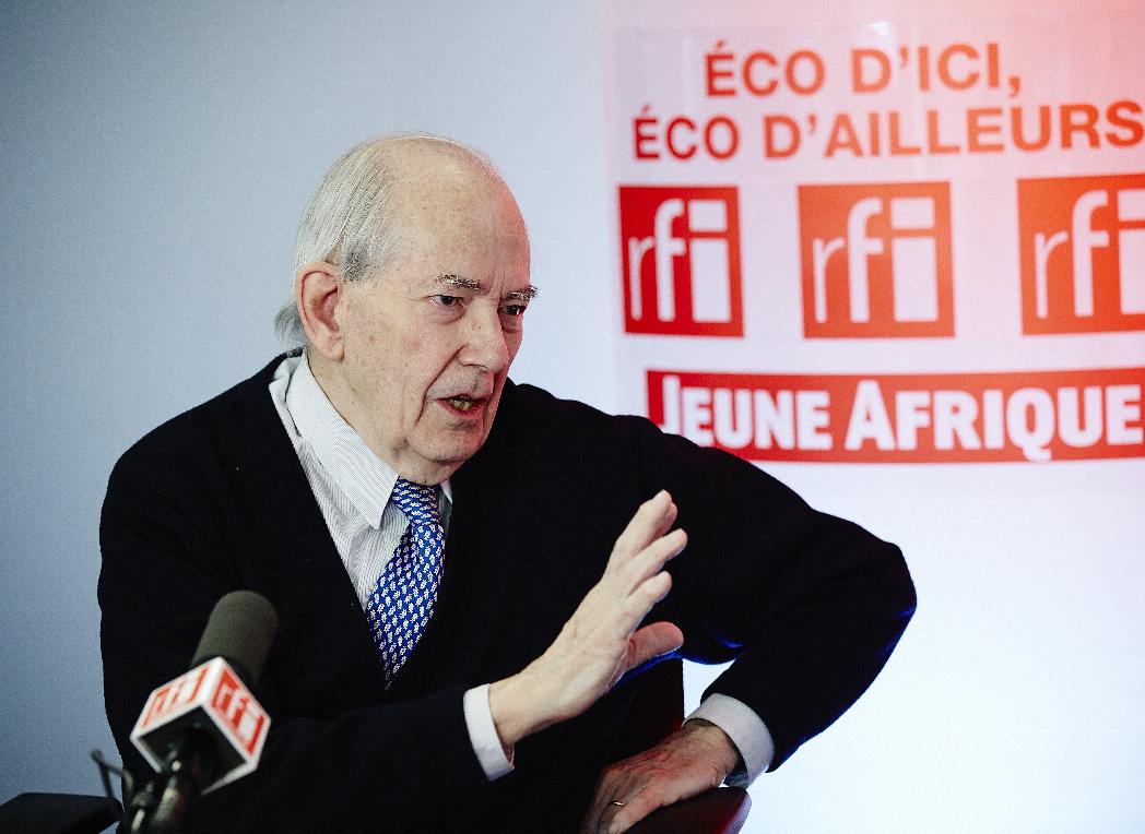 Michel Camdessus, membre de l'Africa Progress Panel et ex-directeur général du FMI.