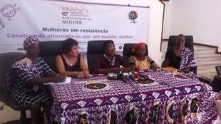Marcha das Mulheres Maputo 10/10/2016