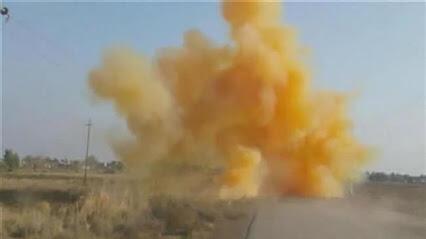 Ataque do Estado Islâmico com arma química no Iraque