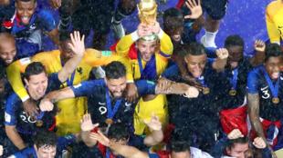法國足球隊世界盃奪冠