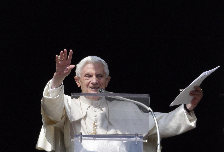 Benoît XVI, le 17 février 2013 à Rome.