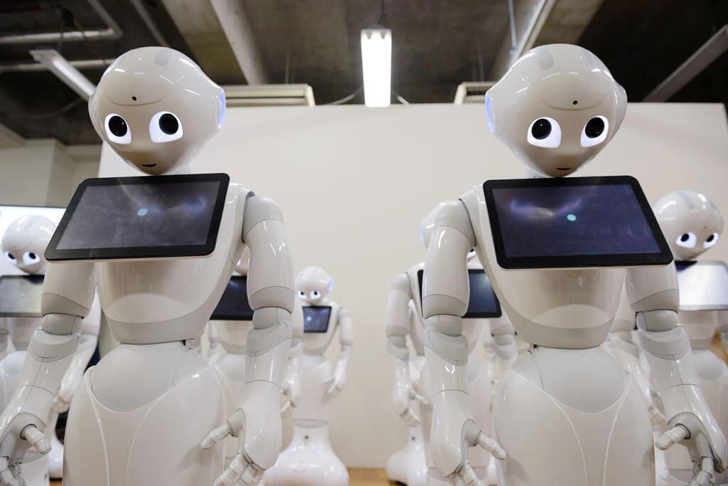 Les robots comme Pepper, développés par SoftBank Corp sont de plus en plus impliqués dans le recrutement en Corée du Sud.