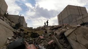 Athari zitokanazo na mapigano nchini Syria