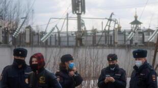 RUSSIA-POLITICS-NAVALNY - Prison Pokrov