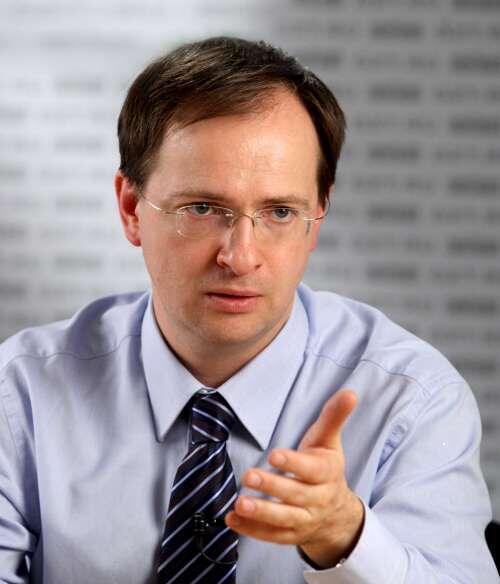Владимир Мединский, новый министр культуры РФ
