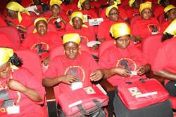 Participantes do Congresso da Mulher Angolana