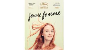 Affiche du film «Jeune femme», de Laetitia Dosch.