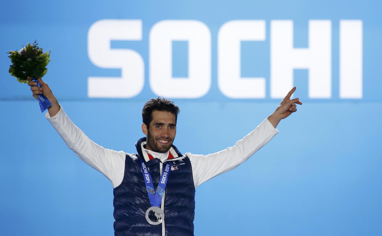 Двукратный золотой медалист ОИ в Сочи, французский биатлонист Мартен Фуркад