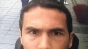 Imagem de video do suposto autor do atentado de Istambul