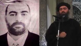 دو چهرهای که بارها از ابوبکر بغدادی منتشر شده است