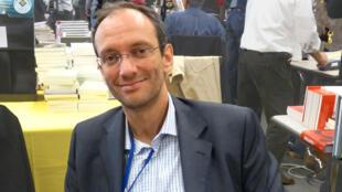 Frédéric Encel au Salon du Livre Amerigo Vespucci dans le cadre du 20e Festival international de géographie à Saint-Dié-des-Vosges.