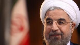 O presidente iraniano, Hassan Rohani, fotografado no dia 18 de setembro de 2013 em Teerã.