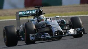 Mercedes domina treino no Japão.