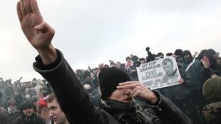 Антикавказская акция на Манежной площади, декабрь 2010 года