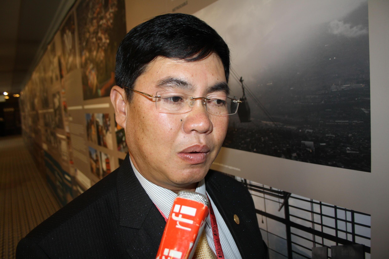 Trần Đình Văn phó chủ tịch thành phố Đà Lạt (RFI / Thanh Phương)