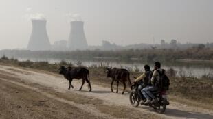 Une centrale nucléaire dans l'Uttar Pradesh en Inde (photo d'illustration).