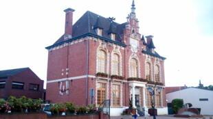 L'Hôtel de ville de Rouvroy, dans le Pas-de-Calais.