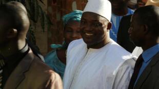 Adama Barrow, le nouveau président de la Gambie.