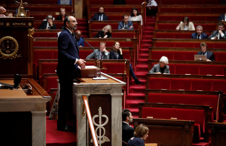 Le Premier ministre français a présenté «six orientations» devant une Assemblée presque vide, ce lundi 7 octobre 2019.