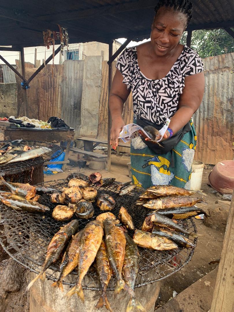 Le poisson fumé est très prisé en Côte d'Ivoire.