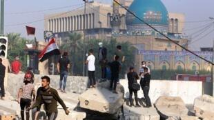 伊拉克继续发生抗议示威活动