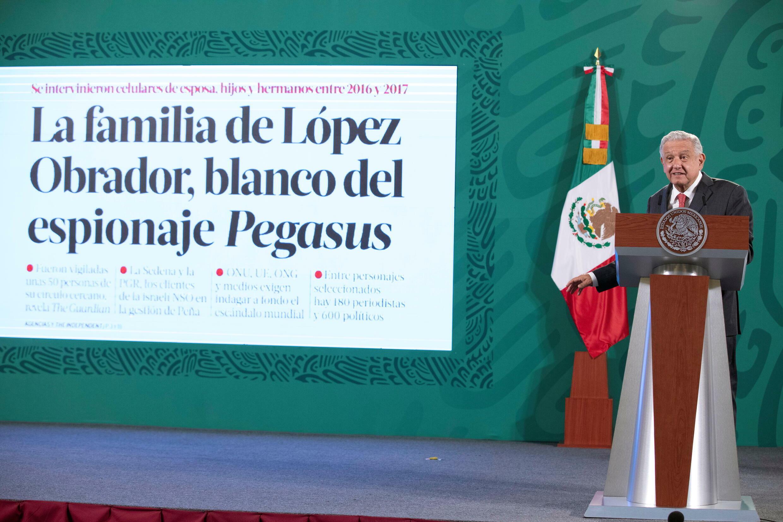 Lopez Obrador Mexico Pegasus
