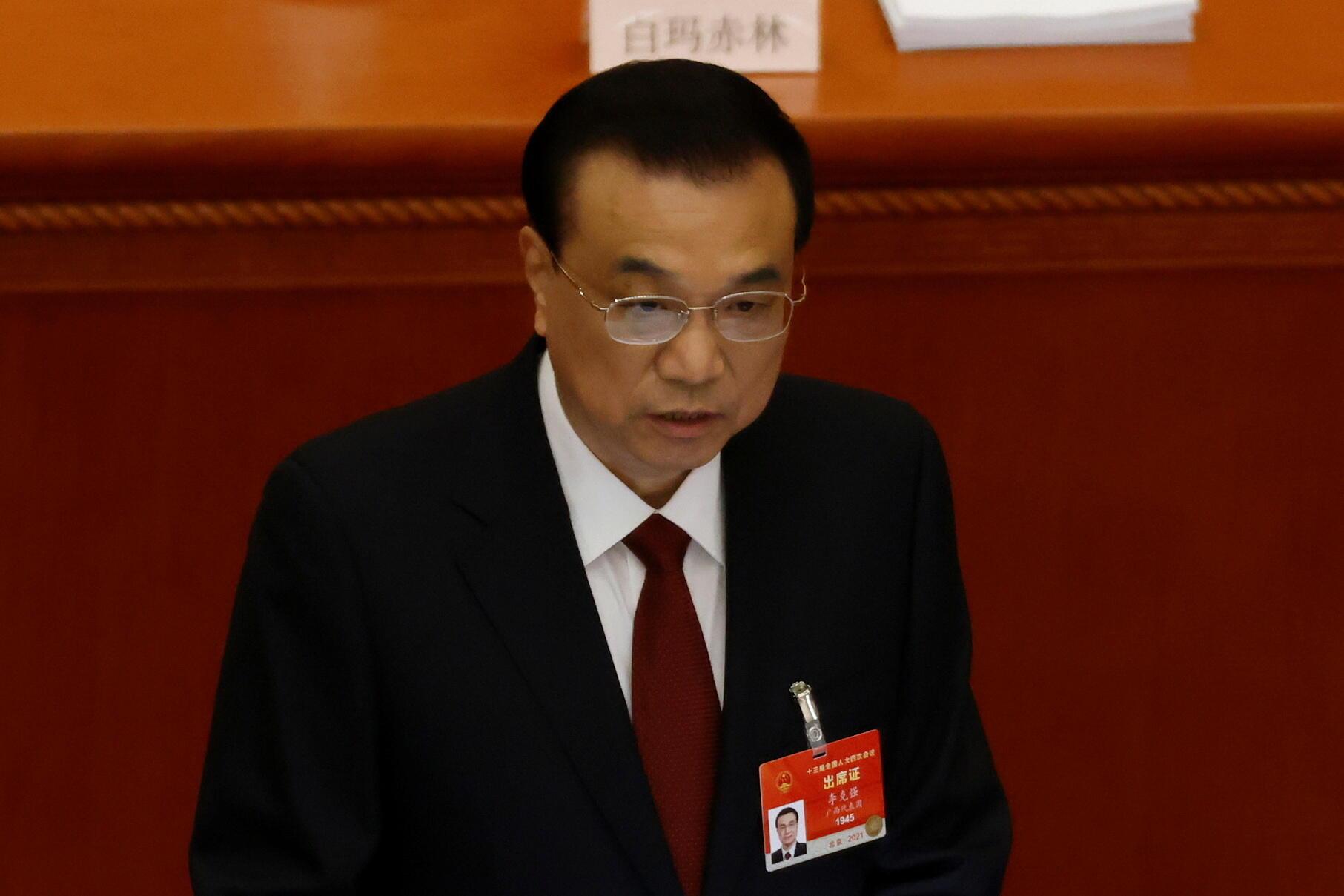 中國總理李克強資料圖片