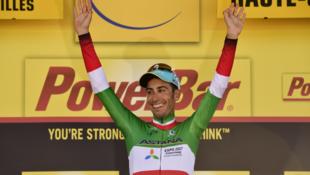 """Fabio Aru venceu 5ª etapa do """"Tour de France"""""""