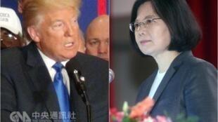 美國當選總統特朗普與台灣中華民國總統蔡英文電話通話引發一系列反應。