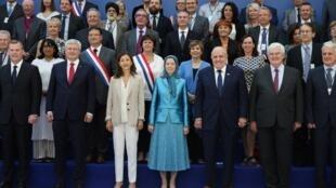 گردهمایی سازمان مجاهدین خلق در روز نهم تیر ماه در شمال پاریس