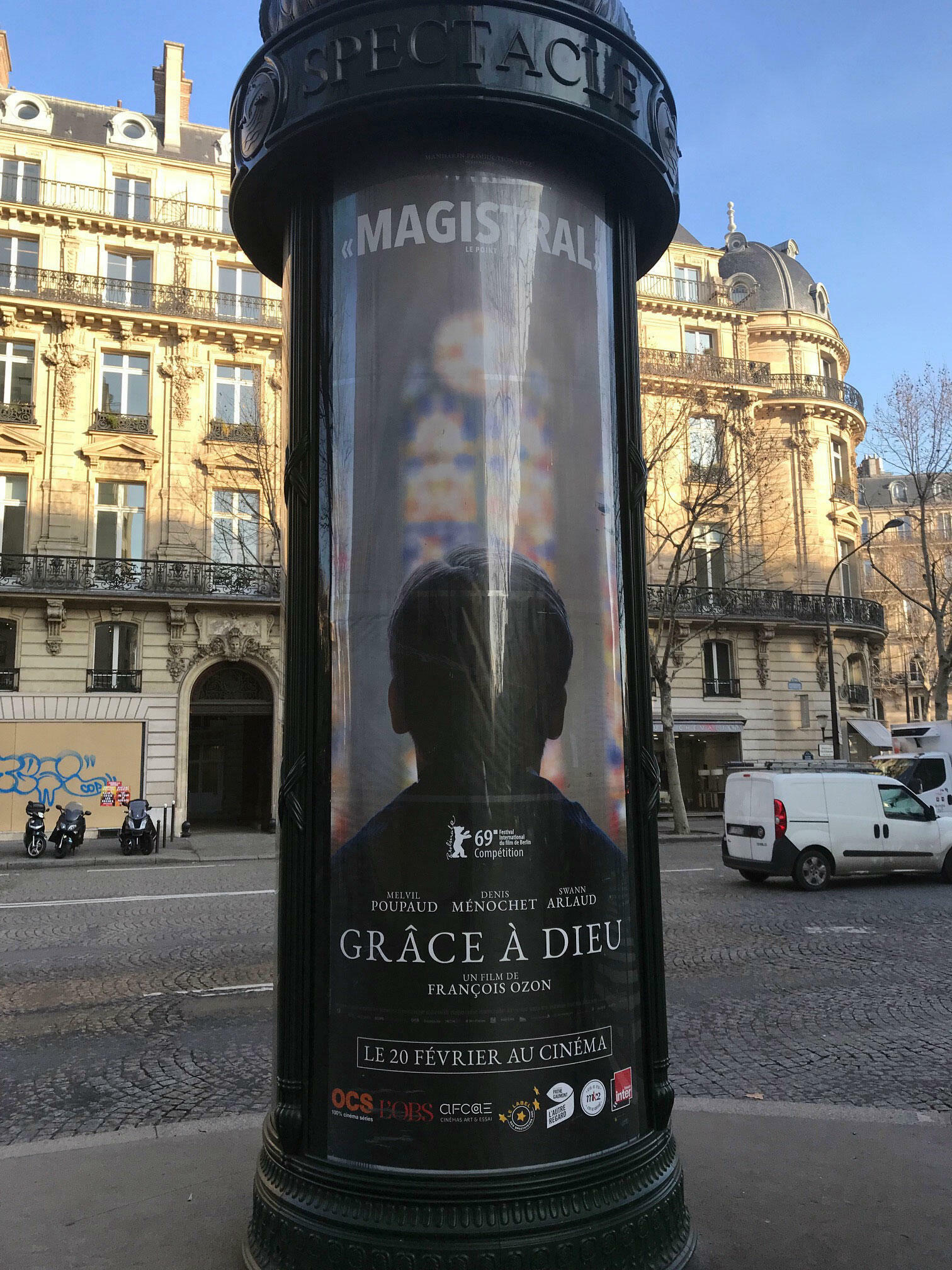 18 февраля суд решил, что фильм Франсуа Озона «Милостью божьей» выйдет на французские экраны