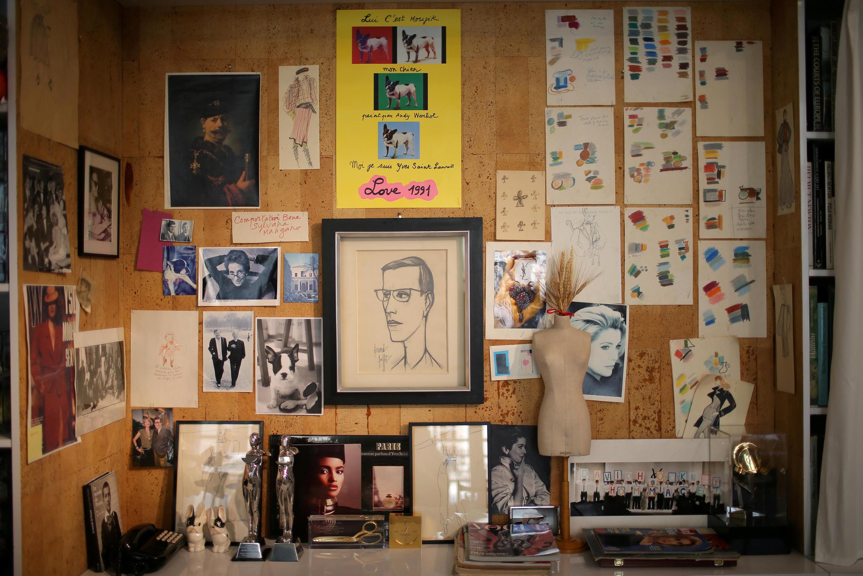 Студия Ива Сен-Лорана отныне открыта для посещений.