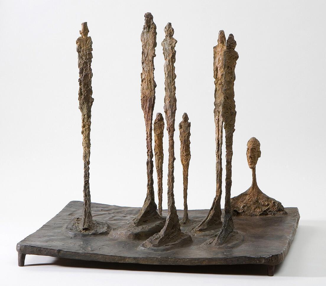 """جنگل"" اثر ""آلبرتو جاکومِتی"" - ١٩۵٠"