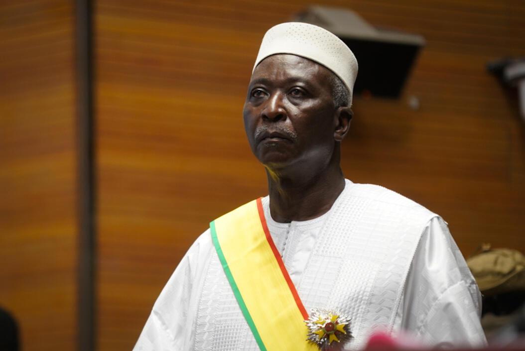 Released: Interim president Bah Ndaw